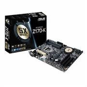 Asus Z170-K LGA 1151 Skylake Motherboard - Intel Socket 1151 for 6th Generation Core i7/Core i5/Core i3/Pentium/Celeron Processors