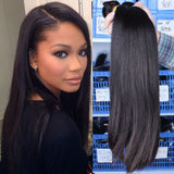 Peruvian Virgin Human Hair 8A - Straight - 3 Bundles