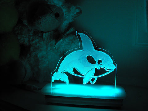 Wally the Whale Night Light