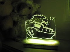 Tug the Boat Night Light