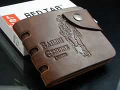 Mens High Quality Tough Genuine Leather Wallet - Bailini CB new