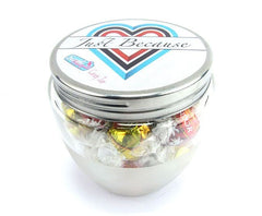 Candy Jar Just Because - Lindt