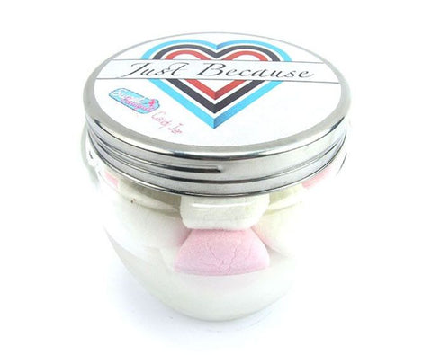 Candy Jar Just Because - Marshmallows