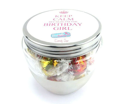 Candy Jar - Birthday Girl - Lindt