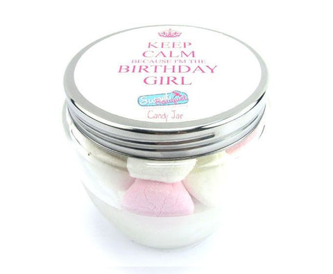 Candy Jar - Birthday Girl - Marshmallows