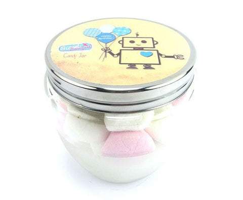 Candy Jar Birthday Boy - Marshmallows