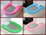 SNAP ON WINTER MAGIC TOILET SEAT WARMER!!!