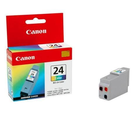 Original Canon BCI-24 Tri-Colour Ink Cartridge