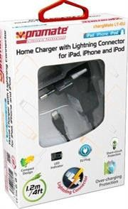 Promate Chargmate LT-EU Multifunction Lightning Home Charger For Ipad