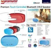 Promate cheerBox Premium Touch controlled Bluetooth¶© V4.0 Speaker-Maroon