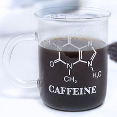 Large Chemistry Glass Coffee Mug (400ml)