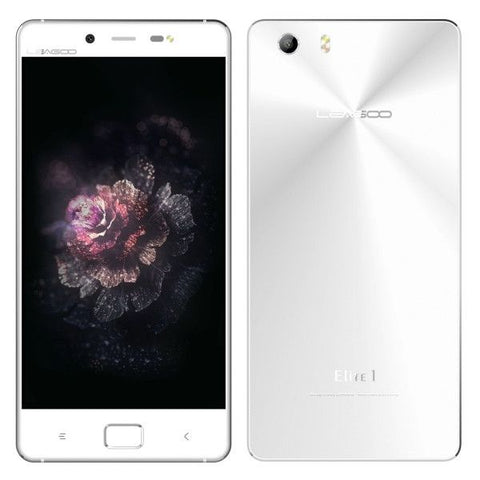 LEAGOO Elite 1 32GB, Network: 4G, 5.0 inch Andriod 5.1  MTK6753 ARM Cortex-A53 Octa Core 1.3GHz, RAM: 3GB(White)