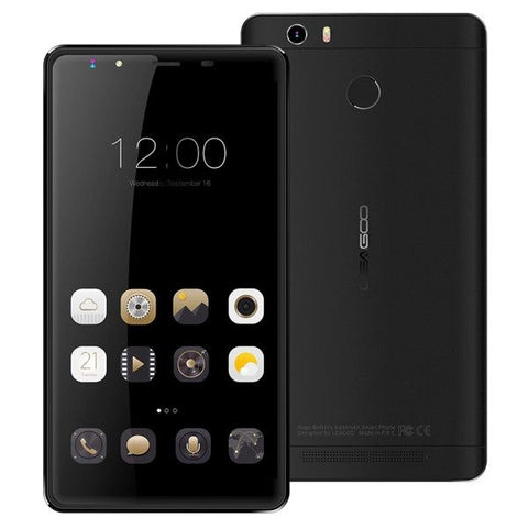 LEAGOO Shark 1 16GB, Network: 4G, Fingerprint ID, 6300mAh Battery, 6.0 inch Andriod 5.1 MTK6753 ARM Cortex-A53 Octa Core 1.3GHz, RAM: 3GB(Black)