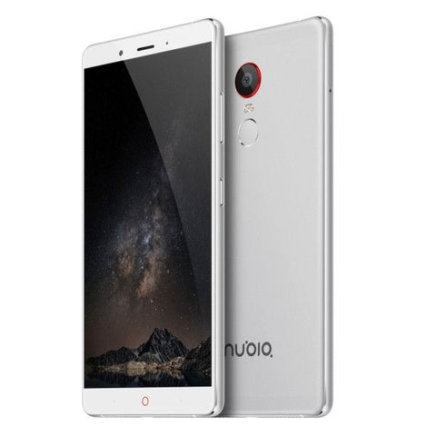 ZTE Nubia Z11 Max 64GB, Network: 4G, 6.0 inch Android 5.0 Qualcomm Snapdragon 652 MSM8976 Octa Core 4x1.4GHz + 4x1.8GHz, RAM: 4GB(Silver)