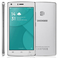 DOOGEE X5 MAX 8GB, Network: 3G, 4000mAh Battery 360 Degrees Fingerprint, 5.0 inch Android 6.0 MTK6580 Quad Core 1.3GHz, RAM: 1GB(White)