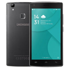 DOOGEE X5 MAX Pro 16GB, Network: 4G, 5.0 inch Android 6.0 MTK6737 Quad Core 1.3GHz, RAM: 2GB, Support OTG, OTA, GPS(Black)