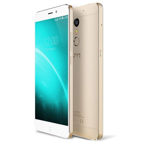 UMI SUPER 32GB, Network: 4G, Fingerprint Scanner 2.5D LTPS 5.5 inch Android 6.0 Helio P10 (MTK6755) Octa Core 2.0GHz, RAM: 4GB(Gold)