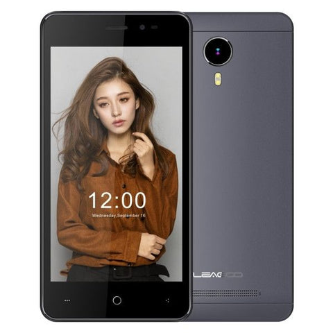 LEAGOO Z5 Lte 8GB, Network: 4G, 5.0 inch Andriod 6.0 MTK6735WM Cortex A7 Quad Core 1.0GHz, RAM: 1GB(Black)