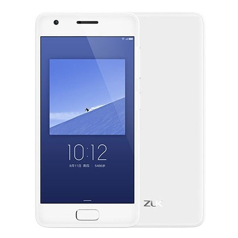 Lenovo ZUK Z2 64GB, Network: 4G, Fingerprint Identification, 5.0 inch ZUI 2.0 Qualcomm Snapdragon 820 Kryo Quad Core 2.15GHz, RAM: 4GB(White)