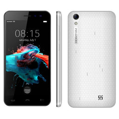 HOMTOM HT16 8GB, Network: 3G, 5.0 inch Android 6.0 MTK6580 Quad Core 1.3 GHz , RAM: 1GB(White)