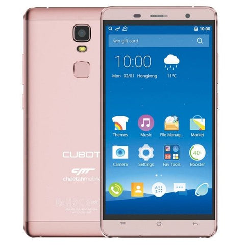 CUBOT CHEETAH 32GB, Network: 4G, 5.5 inch Android 6.0 MTK6753 Octa-Core 1.3GHz, RAM: 3GB(Pink)