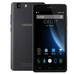 DOOGEE X5S 8GB, Network: 4G, 5.0 inch HD Screen Android 5.1 MT6735 64Bit Quad Core 1.0GHz, RAM: 1GB(Black)