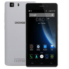 DOOGEE X5S 8GB, Network: 4G, 5.0 inch HD Screen Android 5.1 MT6735 64Bit Quad Core 1.0GHz, RAM: 1GB(White)
