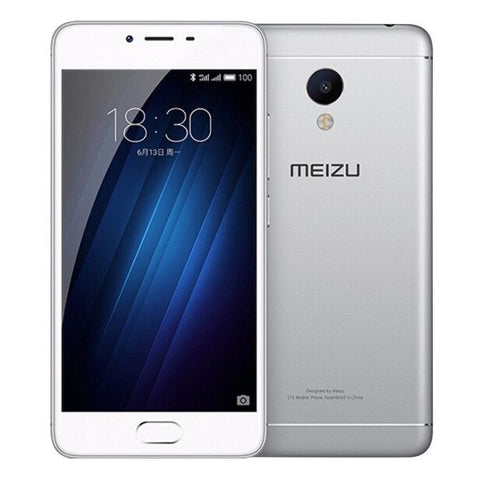 MEIZU M3S 32GB, Network: 4G, Fingerprint Identification, 5.0 inch Flyme 5.1 MTK6750 Octa Core 1.5GHz, RAM: 3GB(Silver)