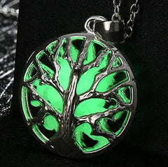 Tree Of Life Glow in the Dark pendant with Free chain included
