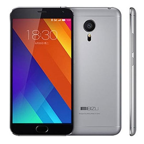 MEIZU MX5 Smart Phone, (Grey)