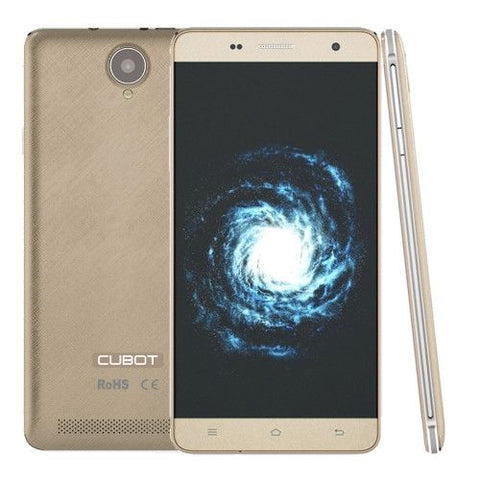 CUBOT H1 5.5 inch Android 5.1 Smart Phone (Gold)