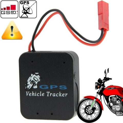 Portable Multi-Function LBS SMS / GPRS Motorcycle Alarm System (TX-9B+)(Black)