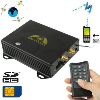 GSM / GPRS / GPS/LBS (location based service) Vehicle Tracking System Cutting off Oil and Circuit by Remote Control(Black)
