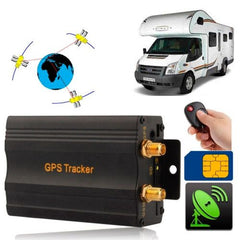 GSM / GPRS / GPS Vehicle Tracking System with Remote Control (Cut off Oil and Circuit)