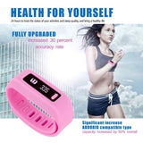HD-267 Bluetooth V4.0 Smart Sports Bracelet, Life Waterproof(Pink) - Zasttra.com - 9