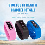 HD-267 Bluetooth V4.0 Smart Sports Bracelet, Life Waterproof(Pink) - Zasttra.com - 8
