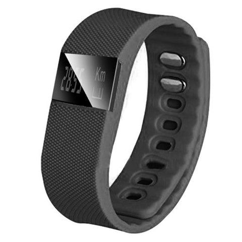 TW64 Waterproof Smart Bracelet (Black)