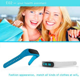 E02 Bluetooth 4.0 Smart Wacth Sports Bracelet(Blue) - Zasttra.com - 5