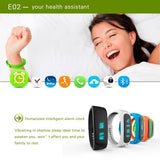 E02 Bluetooth 4.0 Smart Wacth Sports Bracelet(Blue) - Zasttra.com - 6
