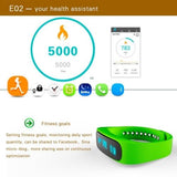 E02 Bluetooth 4.0 Smart Wacth Sports Bracelet(Blue) - Zasttra.com - 7