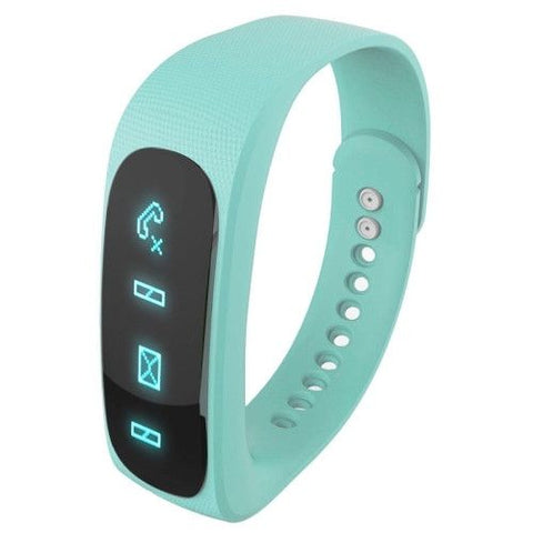 E02 Bluetooth 4.0 Smart Watch Sports Bracelet (Green)