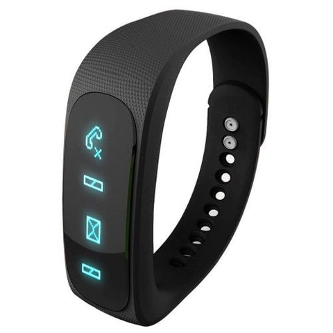 E02 Bluetooth 4.0 Smart watch Sports Bracelet (Black)