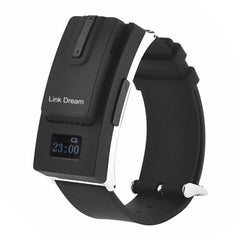Link Dream Removable Design Bluetooth V3.0 Headset Sport Watch(Black)