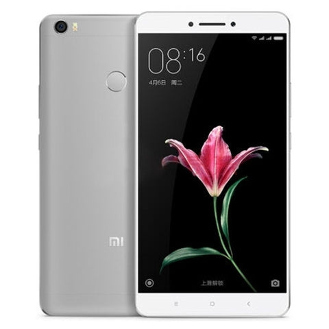 Xiaomi Max 128GB, Network: 4G, Fingerprint Identification, Infrared Remote, 4850mAh Battery, 6.44 inch MIUI 8, Snapdragon 652 Otca Core up to 1.8GHz, RAM: 4GB(Grey)
