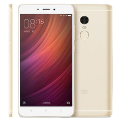 Xiaomi Redmi Note 4 64GB, Network: 4G, 5.5 inch MIUI 8.0 MTK Helio X20 Deca Core up to 2.1GHz, RAM: 3GB(Gold)