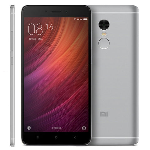 Xiaomi Redmi Note 4 64GB, Network: 4G, 5.5 inch MIUI 8.0 MTK Helio X20 Deca Core up to 2.1GHz, RAM: 3GB(Grey)