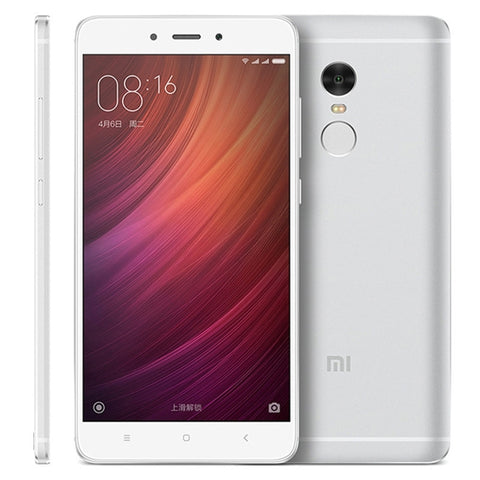 Xiaomi Redmi Note 4 16GB, Network: 4G, 5.5 inch MIUI 8.0 MTK Helio X20 Deca Core up to 2.1GHz, RAM: 2GB(Silver)