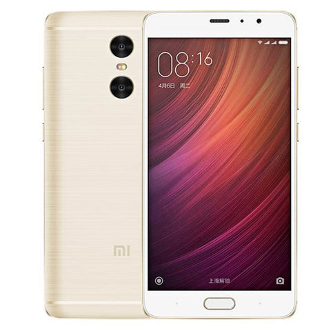 Xiaomi Redmi Pro 32GB, Network: 4G, Dual Back Camera, Fingerprint Identification, 5.5 inch Android 6.0 MTK Helio X20 Deca Core 2.1GHz, RAM: 3GB, Support Dual SIM(Gold)