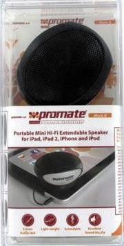 Promate Irock.5-Portable Mini Hi-Fi Extendable Speaker for iPad