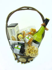White Wine Basket